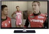 David Reynolds joins sporting stars in latest Stratco TV Commercial