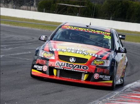 Nick McBride not getting distracted by V8s