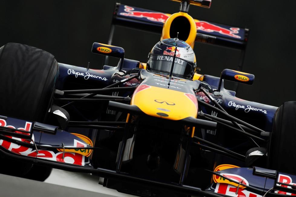 Vettel on pole in Belgium