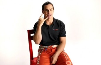 Craig Lowndes in his Vodafone advert