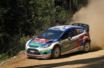 Ford on-target at Rally Australia