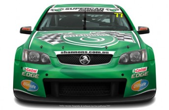 The Shannons Mars Racing Commodore will adorn support from Castrol EDGE