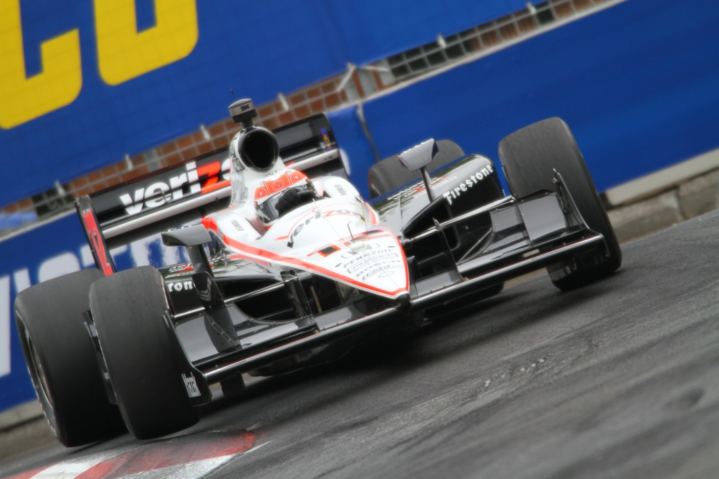 Will Power on pole at Baltimore