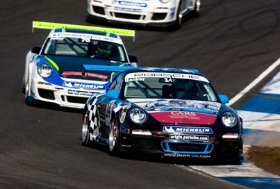 Barker scores another UK Porsche podium