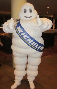 The Michelin Man made an appearance in Coffs Harbour