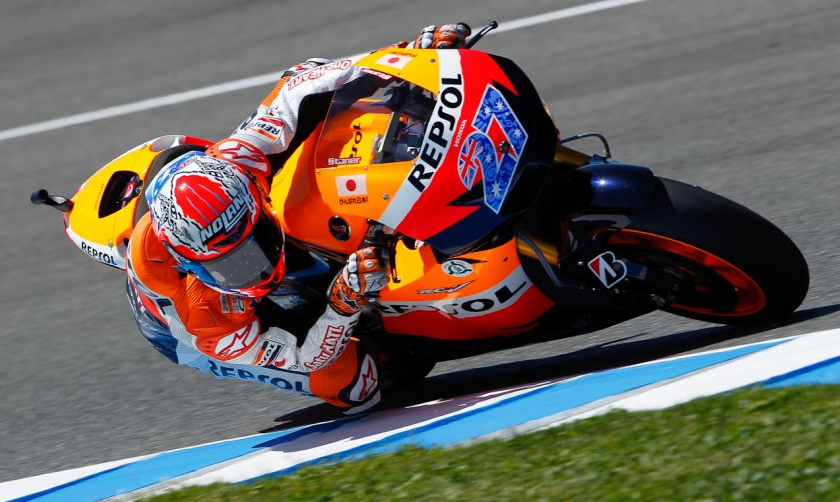 Casey Stoner sets the pace at Phillip Island