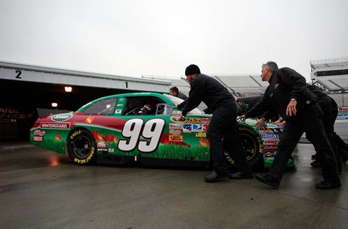 Rain washes out Martinsville qualifying