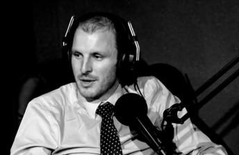 Paul Dumbrell on his radio program V8 Nation