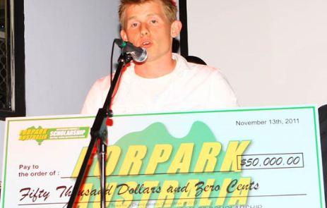 Guiliana awarded Forpark F3 Scholarship