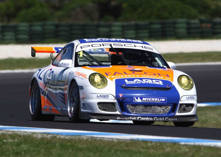 Lago secures second GT3 Cup crown