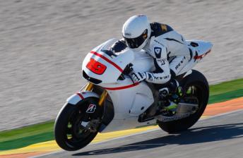 Alvaro Bautista has already sampled his new Honda