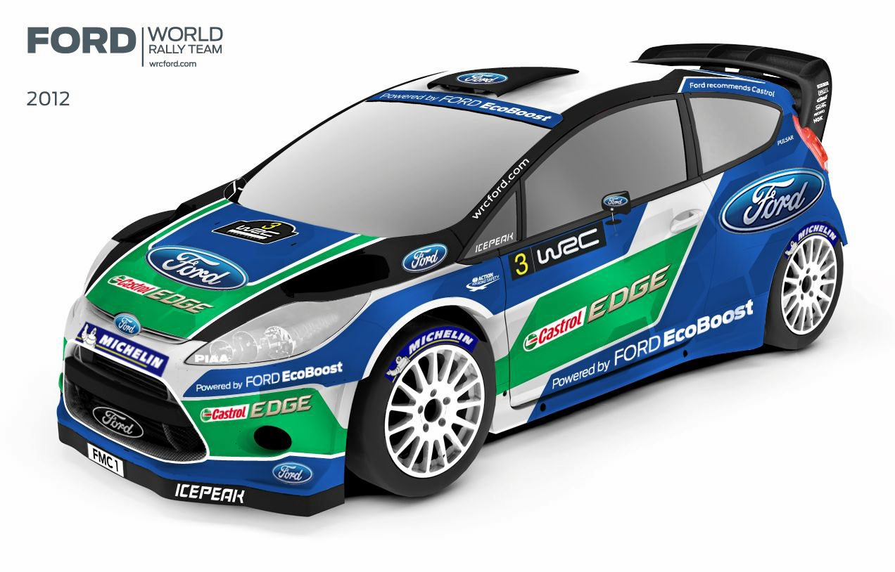 Ford confirms WRC entry and Solberg for 2012