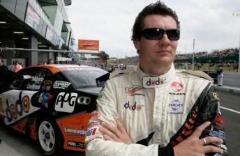 Jason Richards prior to his first Bathurst podium in 2005