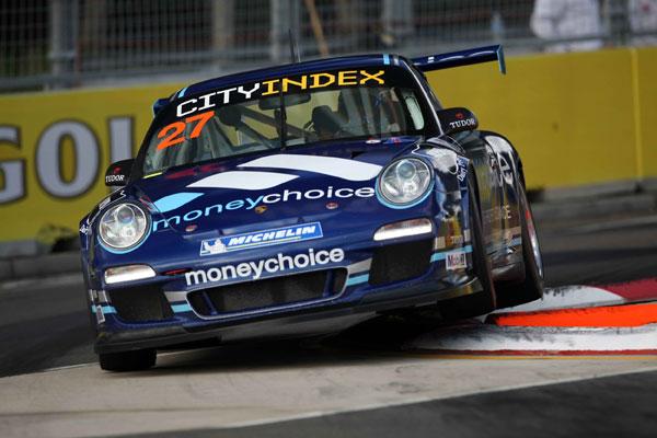 Karting shakedown for Porsche driver