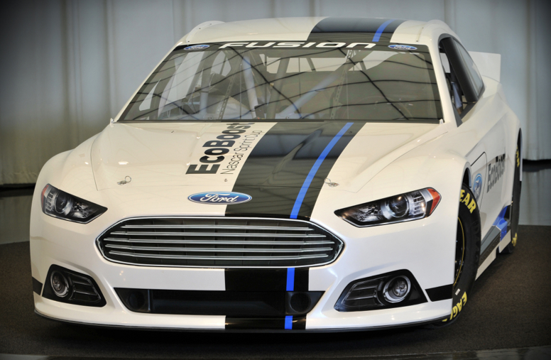 Ford unveils 2013 Cup Series Ford Fusion