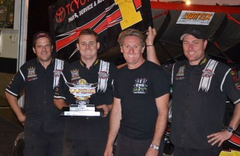 Tatnell took his first victory of the season