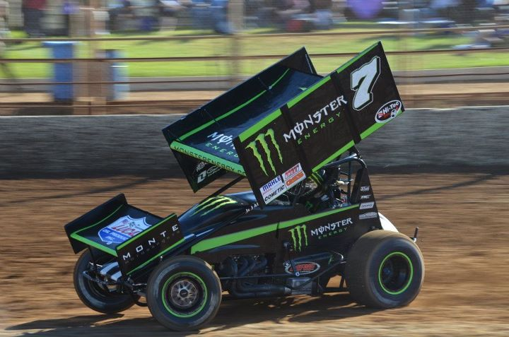Steven Lines Monsters Sprintcar Title