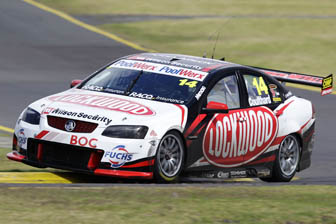 Fabian Couthard's #14 Lockwood Racing Commodore VE