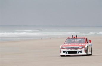 NASCAR back on the beach at Daytona