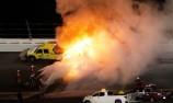 Massive fireball stops Daytona 500