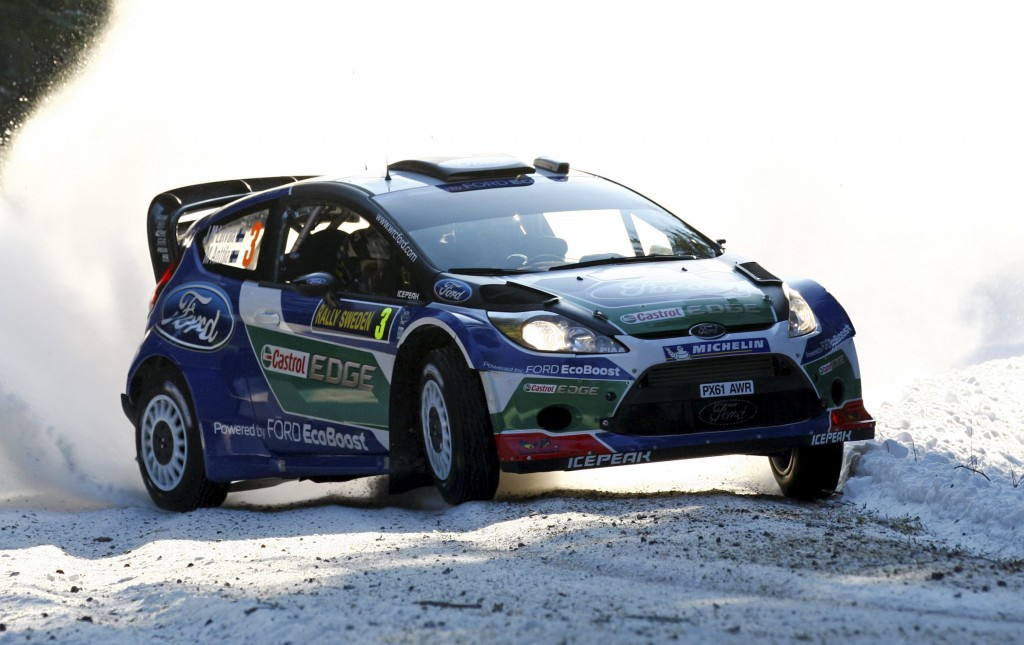 Latvala leads in Sweden