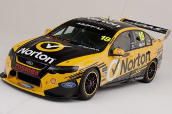 James Moffat's #18 Team Norton Ford Falcon