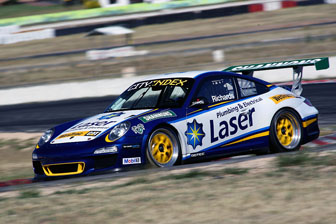 Steve Richards' 2012 Carrera Cup contender, complete with new backing from Shannons Insurance