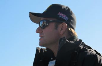 Rubens Barrichello at the Sebring test