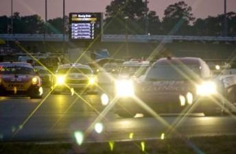 A scene from the 2012 Daytona 24 Hour