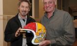 Images released of Dick Johnson's helmet artwork