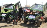 Whincup, Atko and Doohan drive Sprintcars