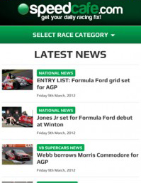Online1 Speedcafe.com launches mobile site