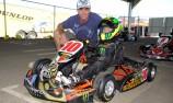 Jack's Doohan it on the kart track