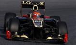 Lotus on top as Barcelona test kicks-off