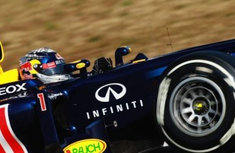 Infiniti has featured on the Red Bull Racing entries since last season