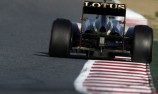 Romain Grosjean quickest again in Barcelona