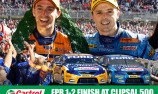 POSTER: Castrol celebrates FPR one-two