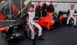 Marussia and HRT reveal their race cars