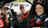 Casey Stoner tests TeamVodafone V8 Supercar