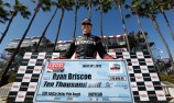 Briscoe fastest, Franchitti to start from pole