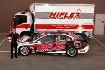Tony D'Alberto will carry a new look for the remaining rounds of the 2012 V8 season