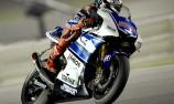Jorge Lorenzo on pole in Qatar