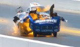 VIDEO: Drag race explosion - extended footage