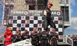Will Power's first win of 2012 in Alabama
