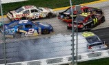 Newman escapes carnage to win at Martinsville