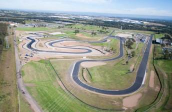 An alternate view of the Sydney Motorsport Park