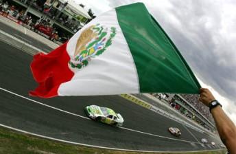 A 2005 NASCAR Busch Series race in Mexico City