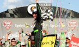 Earnhardt Jr breaks drought with first win in four years