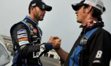Johnson breaks pole drought at windy Kentucky
