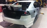 Tulloch Motorsport's NZV8 chassis takes shape